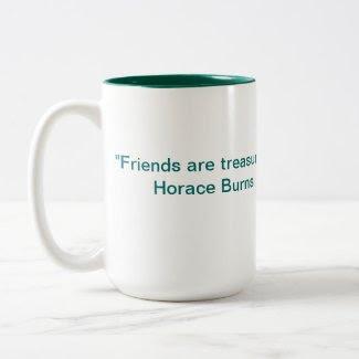 Friends Are Treasures Mug mug