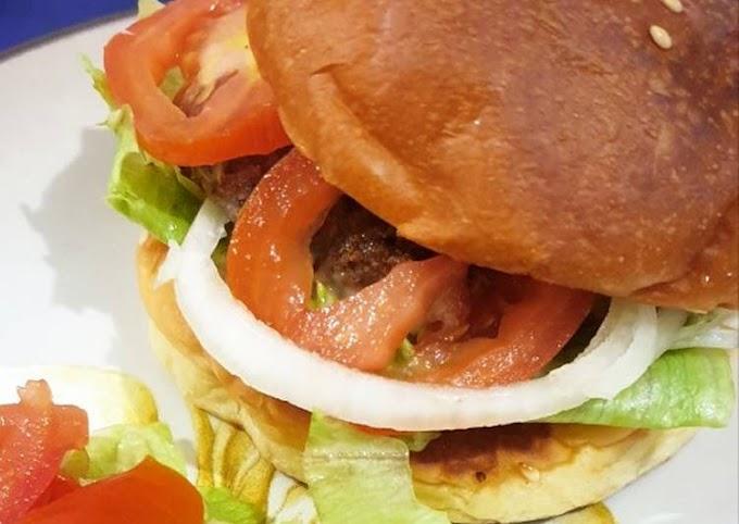 Resep Mudah Burger @ Home Hitungan Menit