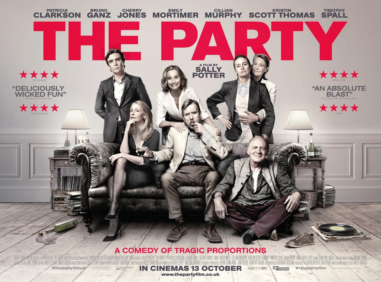 Resultado de imagem para movie poster the party