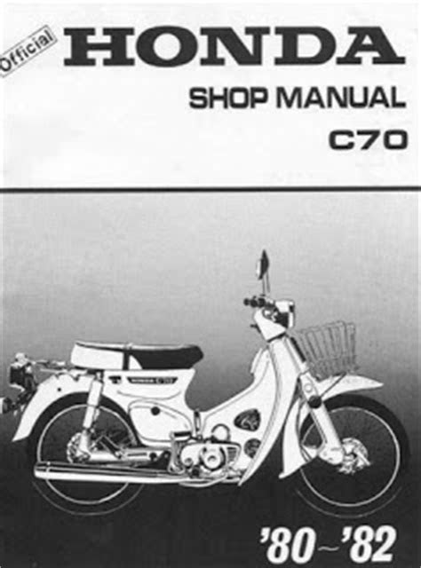 80-82 Honda C70 Service Manual | Auto Services