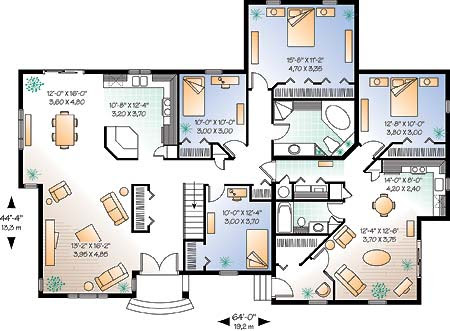Home Interior Design Photo Gallery on House Plans    Blog Archive    Multigenerational House Designs