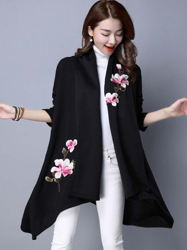 http://www.ericdress.com/product/Ericdress-Floral-Printed-Cardigan-Knitwear-12435949.html