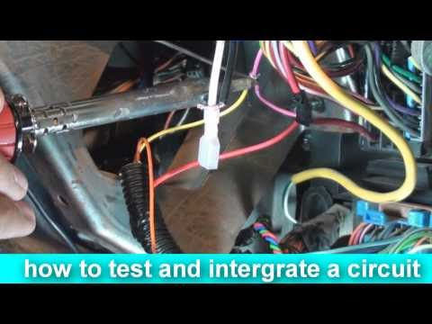 how to install an alarm car security system ... Tapp Engine Wire Harness on