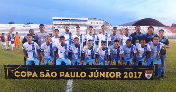 Paraná x Paysandu, Copa São Paulo de Futebol Junior 2017 (Foto: Divulgação/Paysandu)