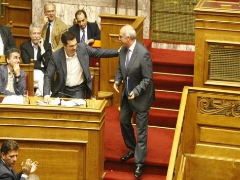 Ο Μεϊμαράκης τρόλαρε τον Τσίπρα για την Κωνσταντοπούλου: Πάντως σας χειροκρότησε...!