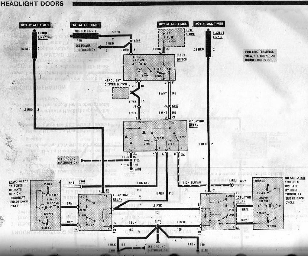 84 Mustang Alternator Wiring Diagram