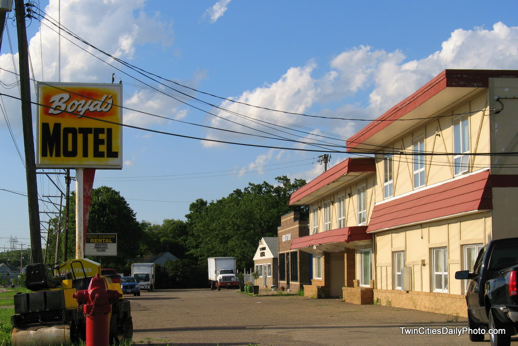 Located in Newport along Highway 61, Boyd's Motel is another place that has survived the ages.