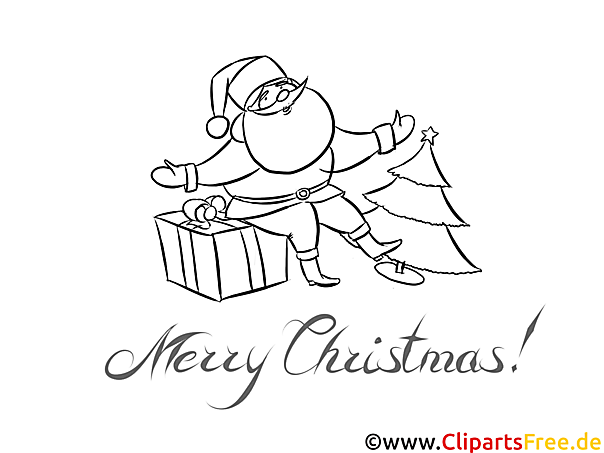 weihnachtsmann geschenk malvorlagen weihnachten und advent