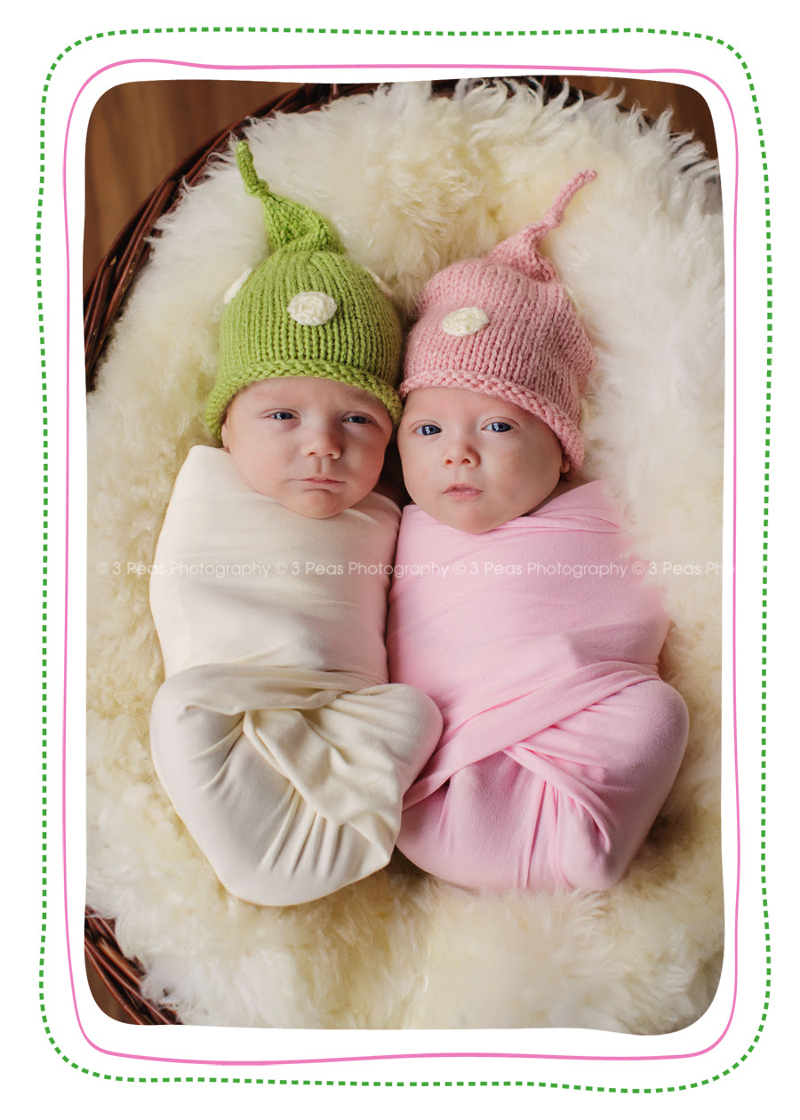 Ten Week Old Twins Too Cute 3 Peas Photography The Blog