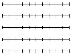 Nifty Number Lines! {classroom number line poster & teaching tool ...