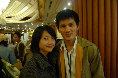 WOMAN ON FIRE LOOKS FOR WATER actress Fei Ling with MUNDANE HISTORY actor Phakpoom Surapongsanuruk