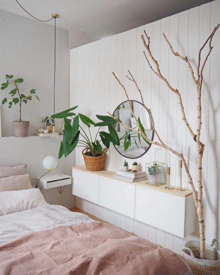Schlafzimmer Wanddeko Metall Wanddekoration Ideen Holz ...