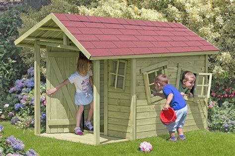 spielhaus kinderspielhaus crazy andy mit terrasse
