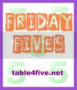 Friday Fives Badge