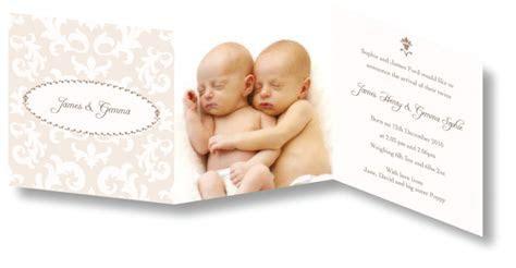 CocoCards, Christening invitations, birth announcements