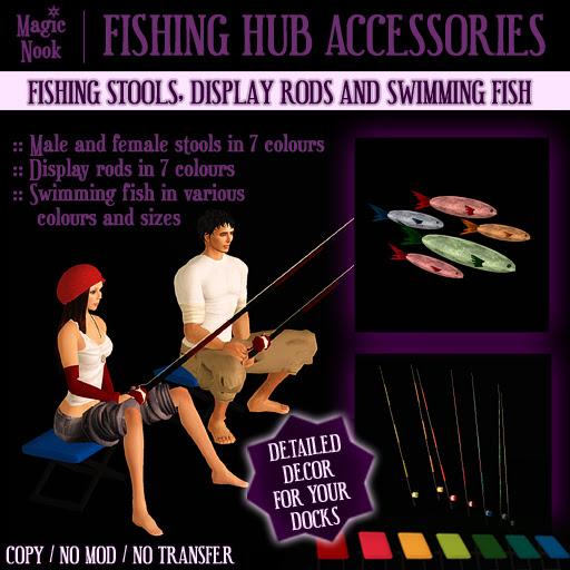 * Magic Nook * Fishing Hub Accessories