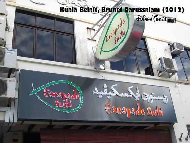 Excapade Sushi Kuala Belait 2012 01