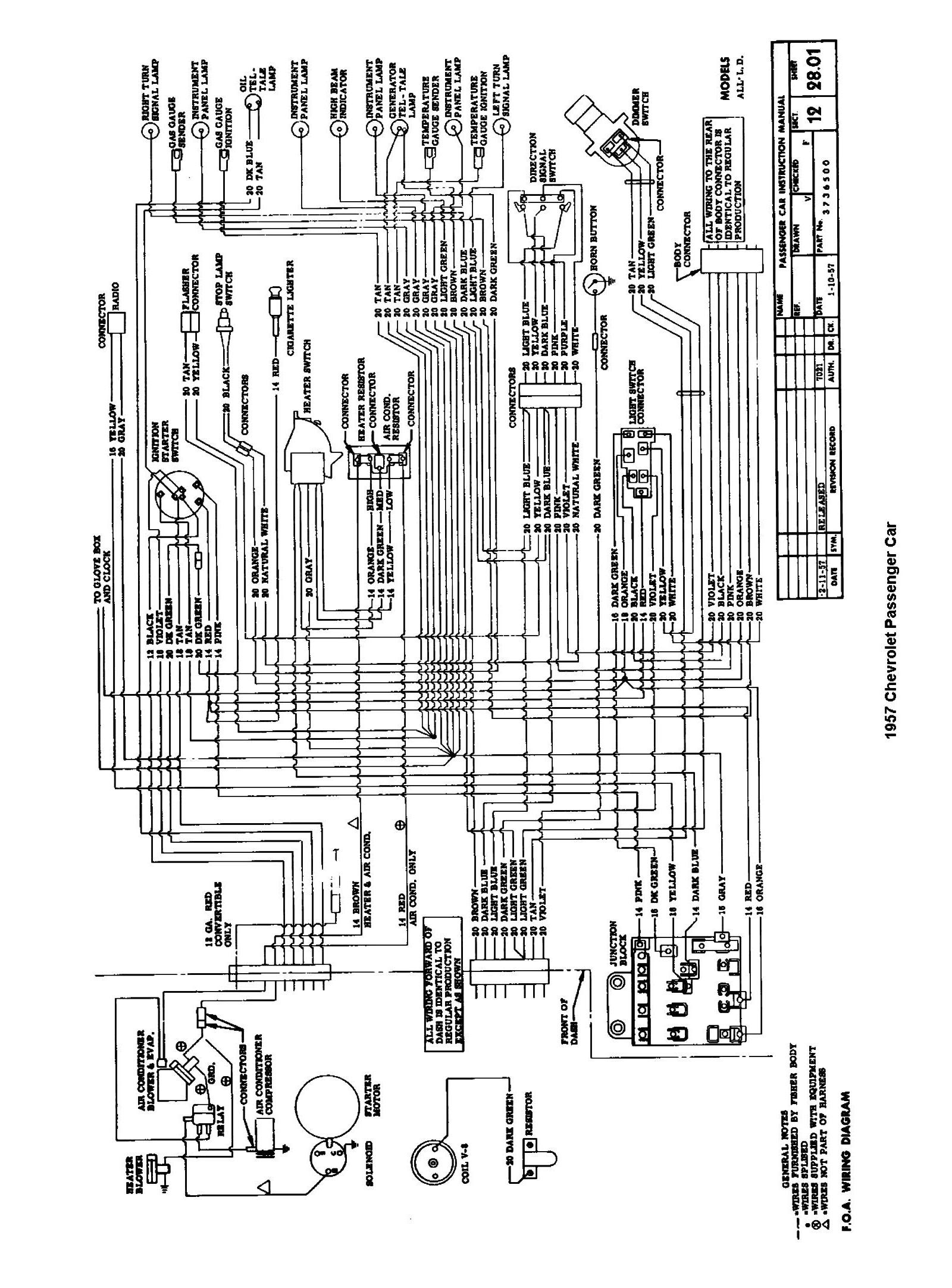 Diagram  197camaro Complete Set Of Factory Electrical