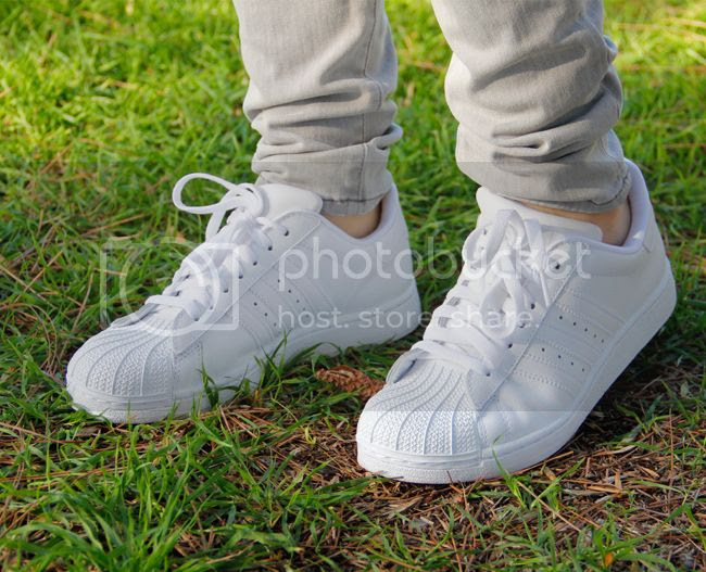 Adidas superstar 2 sneakers in white