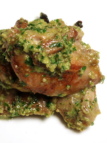 brined quail with agresto sauce© by Haalo