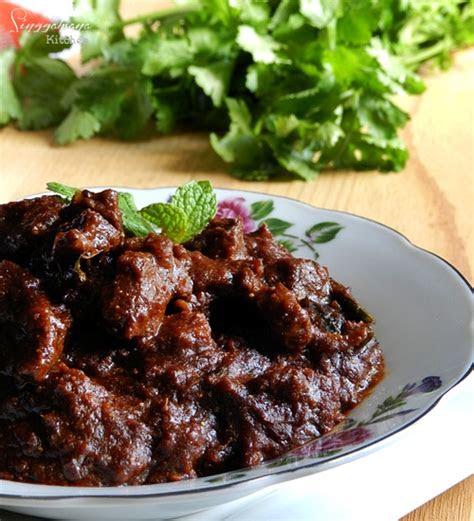 daging masak hitam nasi kandar singgahsana kitchen