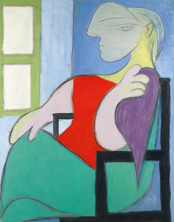 Пабло Пикассо Женщина, сидящая у окна
