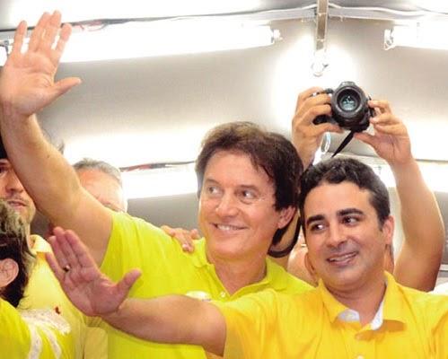 Governador e prefeito de Mossoró em Brasília (DF)