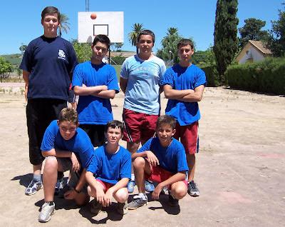Equipo de basquet