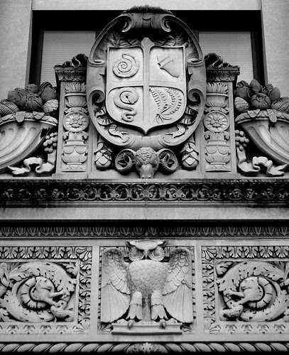 Museum doorway detail