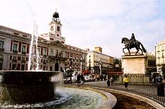 Puerta de Sol, Madrid, Spain