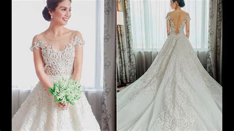 FILIPINO CELEBRITY WEDDING DRESSES!   YouTube