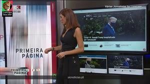 A sensualidade do jornalismo português em mais um video