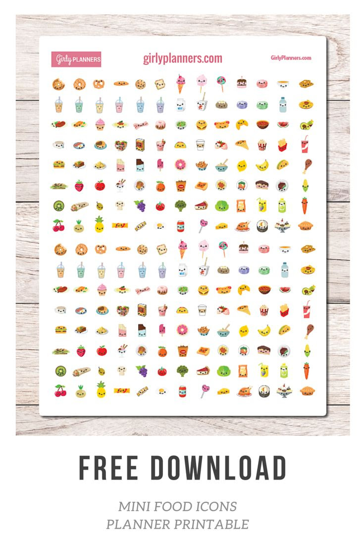1000+ ideas about Free Printable Stickers on Pinterest | Planner ...