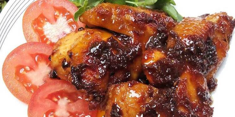 Resep Ayam Bakar Madu (SUPER ENYAK & LEGIT)🍗🍯😋 Oleh Indhyuli