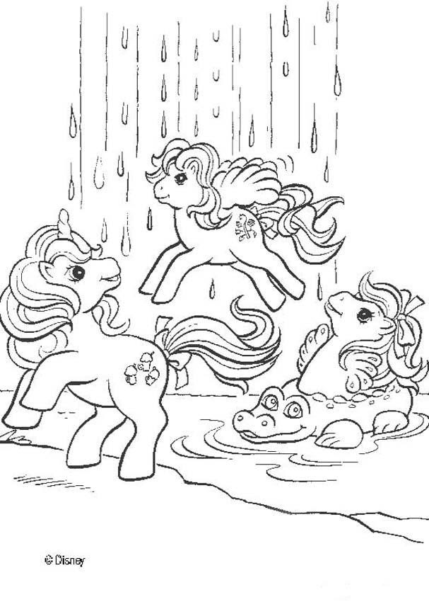 Dibujos Para Colorear My Little Pony Verano Es Hellokids Com