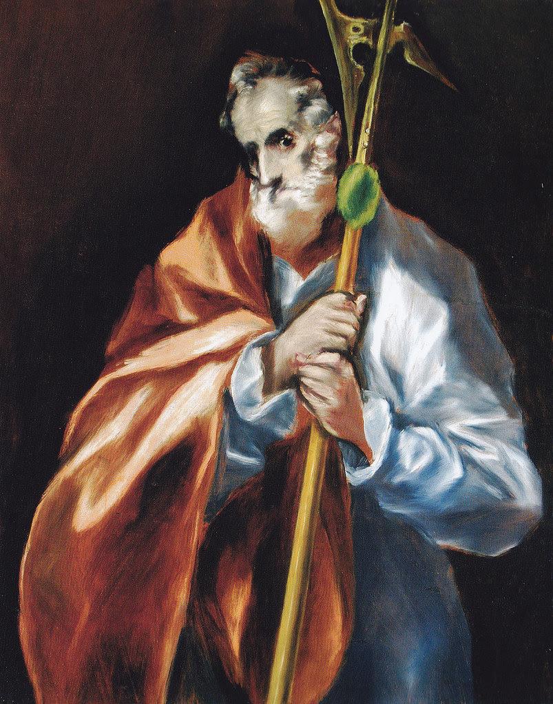 San Judas Tadeo. Obra de El Greco