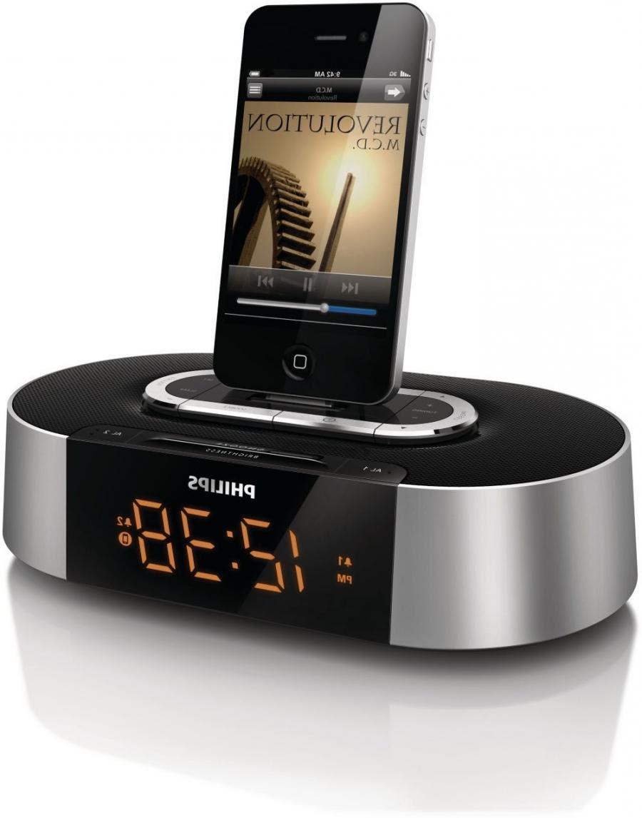 Philips 7 Digital Photo Frame Dual Alarm Clock Radio