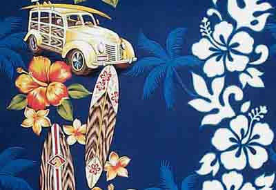 SURF AND HAWAIIAN SHOWER CURTAINS