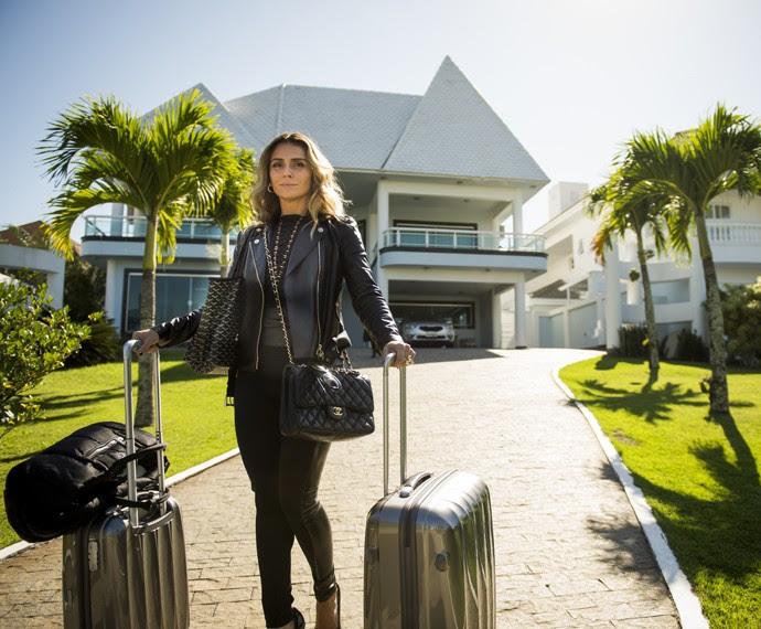 Giovanna Antonelli Será Francineide dos Santos, Mais conhecida Como Atena em A Regra do Jogo (Foto: João Miguel Júnior / Globo)