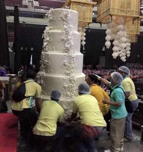 Marian Rivera's Wedding Cake Made Worldwide Headlines