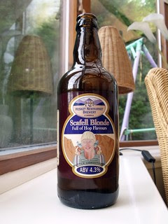 Hesket Newmarket Brewery, Scafell Blonde, England