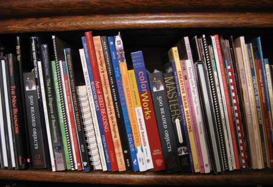 The Beading Book Shelf