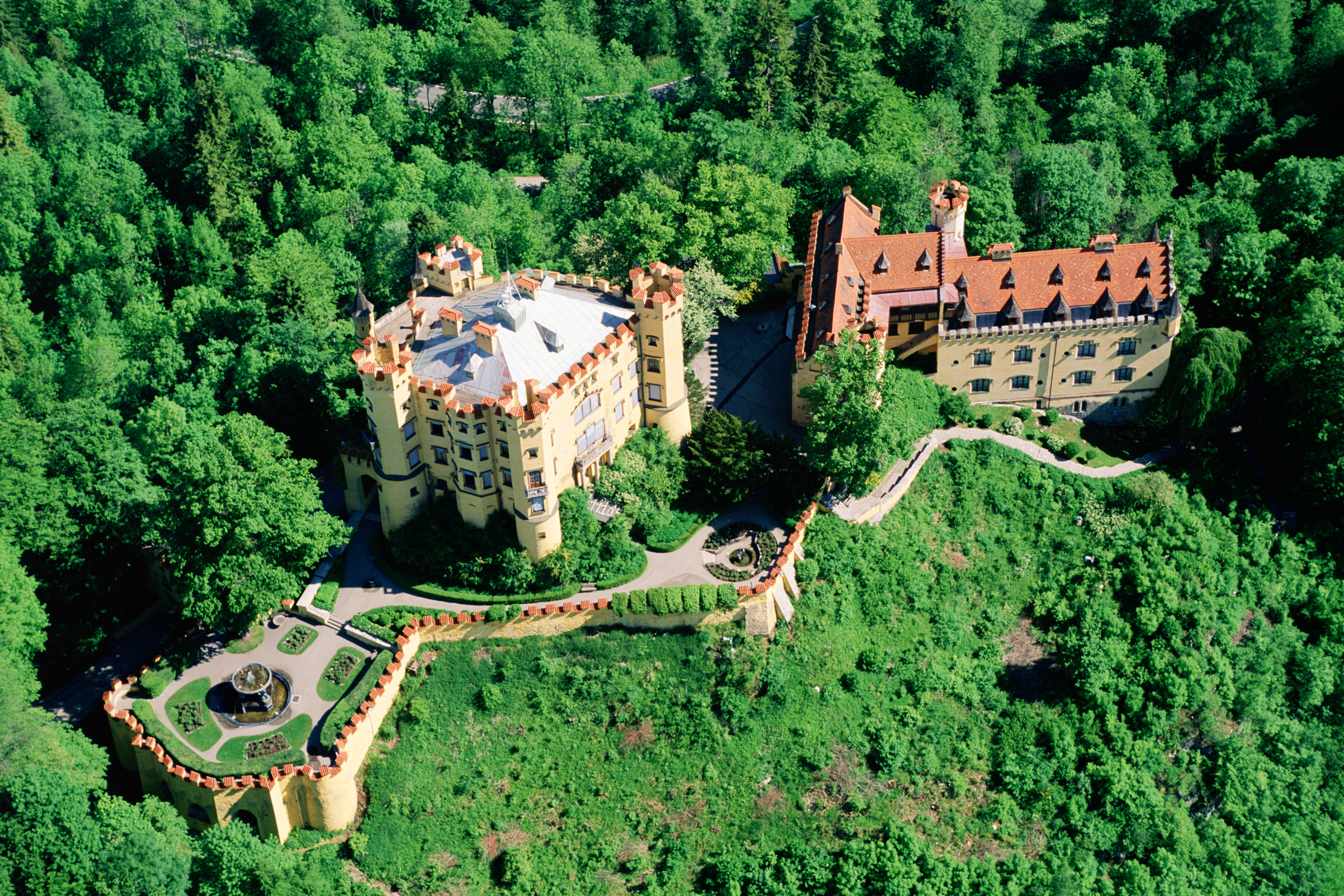 11 Aerial Views of Castles Photos Architectural Digest