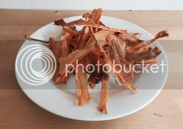 homemade sweet potato crisps