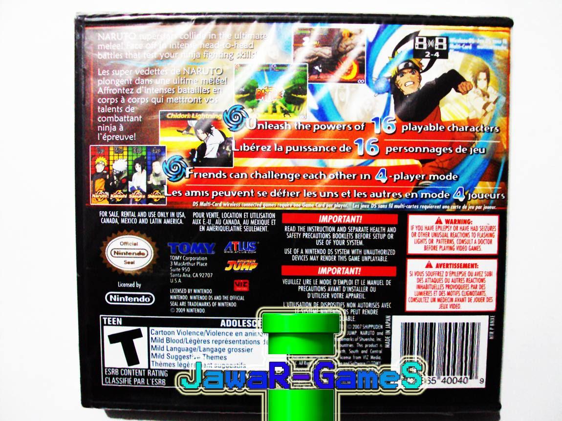 Naruto Shippuden Shinobi Rumble Nds Rom Anime Wallpaper