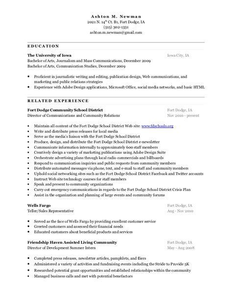 Ashton Newman's Resume