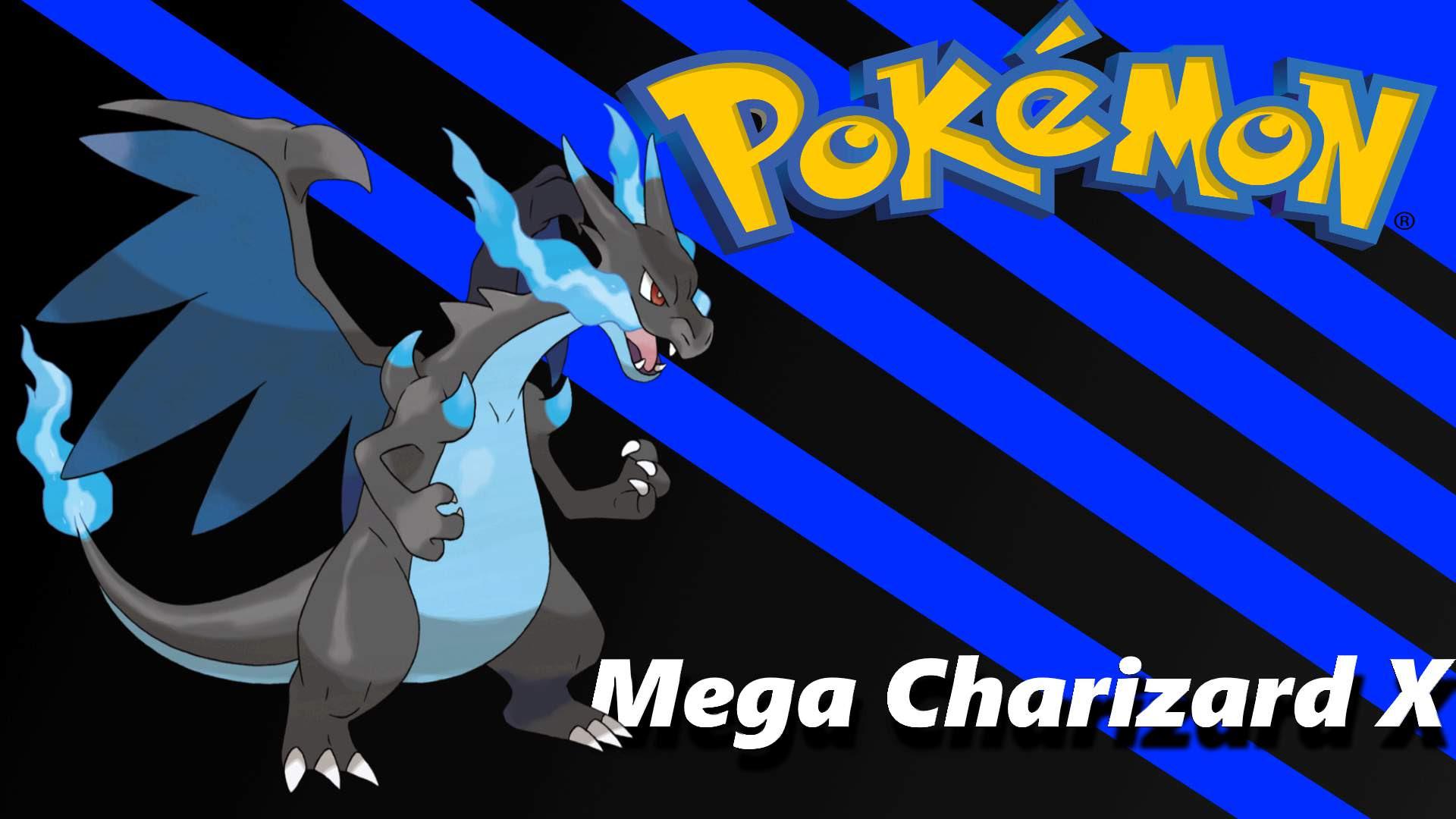 Custom Mega Charizard X Wallpaper Pokemon Amino