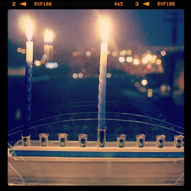 First night of Hanukkah