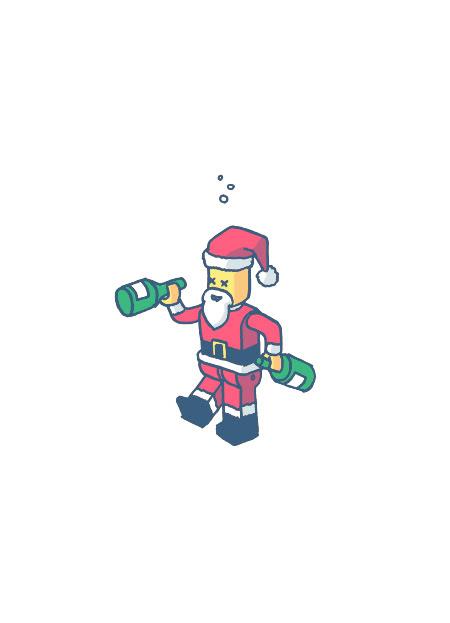 03 - Drunk LEGO Santa
