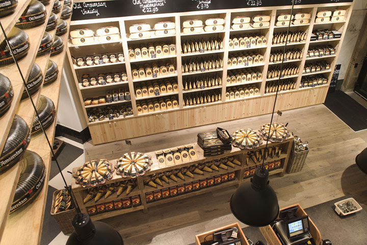 Old Amsterdam Cheese store by studiomfd Amsterdam 07 Old Amsterdam Cheese flagship store by studiomfd, Amsterdam